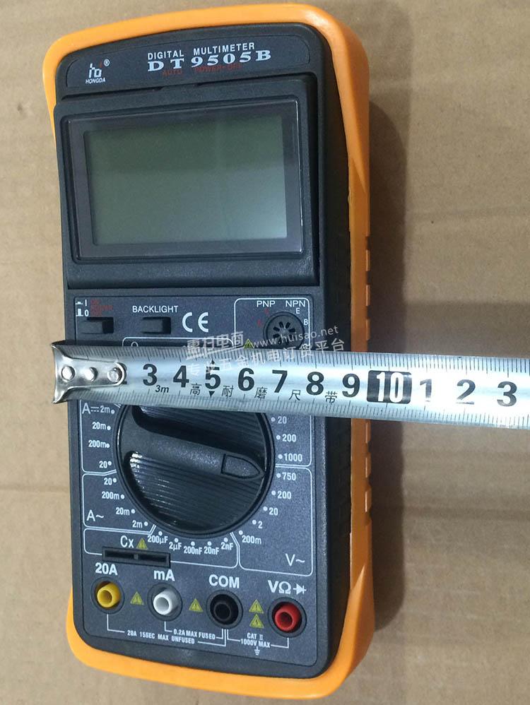 弘大9505b数字电流表万用表(2个起批)